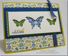 Butterfly Punches ~ LeAnne Pugliese