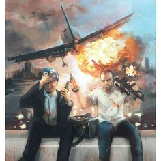 GTA V Art 'Michael and Trevor'