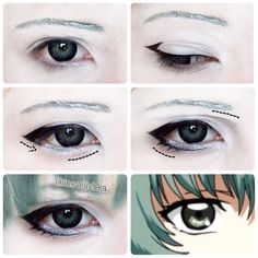 Eto Yoshimura Makeup Tutorial For @kaguya_art Lenses from @uniqso Don't forget…