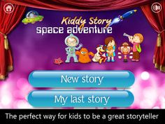 Get ready to let your child's imagination run wild and get in touch with their inner author! #apps #writing