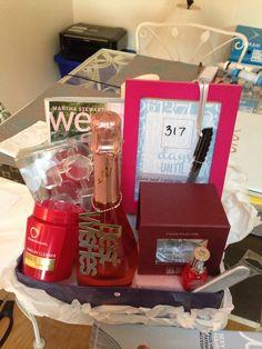 homemade engagement gift basket gifts galore pinterest