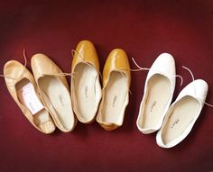 Porselli by Garance Dore❤  Can I have a closet full of ballet flats lined up by color gradient please ?