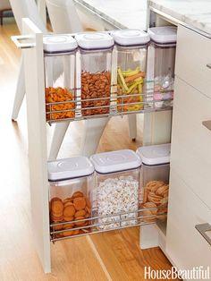 Un cajón para snacks