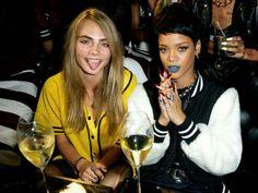 Rihanna et Cara Delevingne vont fêter le Nouvel An ensemble