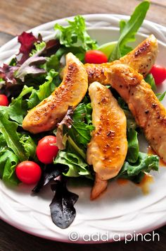 Buffalo Chicken Salad Recipe - Cooking | Add a Pinch | Robyn Stone