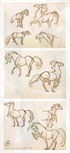 Horses_Wendling's style study by Spighy.deviantart.com on @DeviantArt