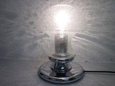 Grosse Pilzlampe Lampe Schaumglas PILZ Baum- Leuchten 70s pop art era Panton