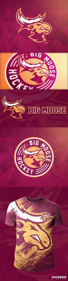 Big Moose Hockey on Behance