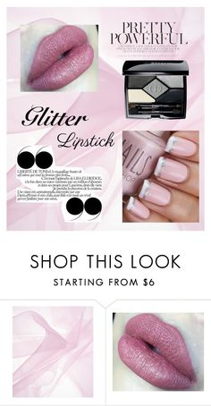 """""""Untitled #9"""" by ilarialupo ❤ liked on Polyvore featuring beauty and Christian Dior"""