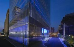 Light Matters: Glass Beyond Transparency with James Carpenter, 7 World Trade Center. New York, NY Image © David Sundberg Facade Lighting, Lighting Design, 7 World Trade Center, Woodworking Projects Plans, Outdoor Lighting, Skyscraper, Exterior, House Styles, Gallery