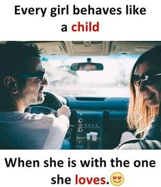 Ya that's true it always happen with me when I am with my ❣️ But someone told me that boys like childishness in girls so maybe it's s good thing Love Husband Quotes, True Love Quotes, Real Life Quotes, Sweet Quotes, Bff Quotes, Best Love Quotes, Girly Quotes, Couple Quotes, Love Quotes For Him