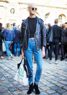Denim 101: How to Style Every Pair of Jeans You Own via @WhoWhatWear