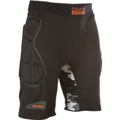 The tailbone protection on the Demon Snow Flex-Force X D3o Body Armor Shorts is well worth it...