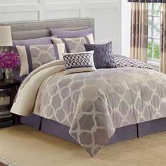 royal velvet azure king comforter set - own   master br