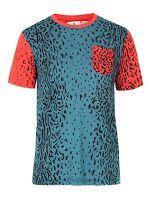 Adidas x Opening Ceremony Color Block Multi Native Blue T-Shirt #Coordinuna