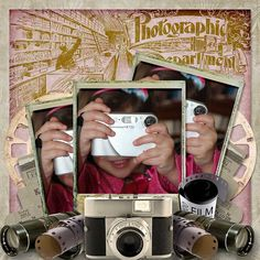 Great Snap Shots made with It's A Snap by #SnickerdoodleDesigns, #ADBDesigns and #JilbertsBitsofBytes.  Round 4 of the #StudioRoundRobin #digitalscrapbooking
