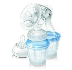 Philips Avent Natural Comfort Manual Breast Pump with 3 Storage Cups Scf33012 Good Gift for Mom and Baby Fast Shipping Ship Worldwide