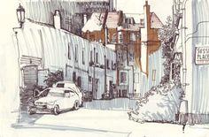 Для меня эта тихая улица - воплощение Лондона. Но кто-то со мной может не согласиться. У меня не было мечты посетить Париж, а вот Лондон... Англию я всегда считала своей второй культурной родиной. И все из за школы. Школа, какие противоречивые воспоминания. Я ее ненавидела. Но она мне дала…