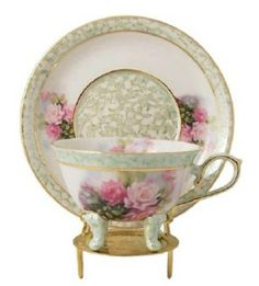 Such a delicate Teacup & Saucer