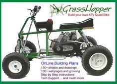 Dune Buggy Go Kart Cart Assembly Plans How to Build Homebuilt Project Atv Quad, Quad Bike, Mini Bike, Welding Projects, Fun Projects, Vintage Wedding Invitation, Offroad, Go Kart Kits, Go Kart Plans