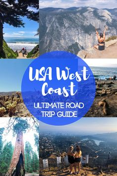 Planning a USA West Coast road trip? Check out his ultimate road trip guide, listing the best 6 places to visit in the United States West Coast that cannot miss from your road trip itinerary! usa USA West Coast Road Trip Itinerary: 6 Places You Must Visit West Coast Road Trip, Us Road Trip, Pacific Coast Highway, Road Trip Hacks, West Road, Arizona Road Trip, Usa Places To Visit, Places To Travel, Visit Usa