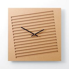 Define your time with these modern, laser-cut clocks from Perhacs Studio. Large Wood Clock, Wall Clock Wooden, Cool Clocks, Unique Wall Clocks, Clocks Inspiration, Traditional Clocks, Modern Clock, Wall Clock Design, Ideas