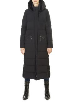This is the 'Katy' Long Black Puffer Coat by stunning brand Creenstone. This gorgeous piece features a detachable hood, a central double zipper fastening, and side zip pockets. This is the perfect piece to carry you into the colder season! Long Black Puffer Coat, Winter Coats Women, Winter Jackets, Blue Coats, Midnight Blue, Pockets, Zipper, Shopping, Clothes
