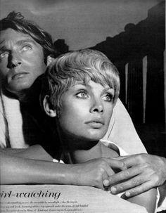 Richard Avedon   Jeanloup Sieff and Jean Shrimpton, Greece, for Vogue   1967