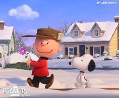 Charlie Brown and Snoopy will warm your heart in The Peanuts Movie, coming in 2015!