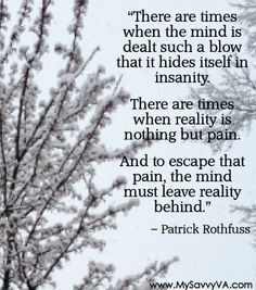 Quote:  From 'The Name of the Wind' by  Patrick Rothfuss