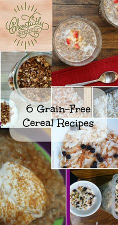 Grain free breakfast cereal