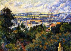 The Athenaeum - Region of Paris, View of Montmartre (Maximilien Luce - )