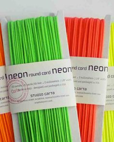A New Twist | Neon Wedding Ideas