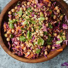 Chickpea Vegetable Bowl with Peanut Dressing Recipe on Food52 recipe on Food52