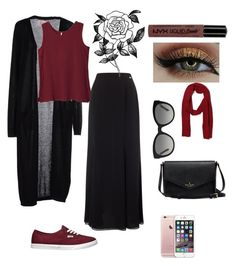 """""""eid outfit"""" by fashionista-sundus on Polyvore featuring SH Collection, Jacques Vert, Vans, Tommy Hilfiger, Burberry, Forever 21 and NYX"""