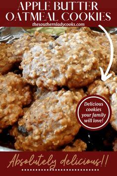 Cookie Desserts, Cookie Recipes, Dessert Recipes, Baking Recipes, Candy Recipes, Appetizer Recipes, Apple Recipes, Sweet Recipes, Fall Recipes