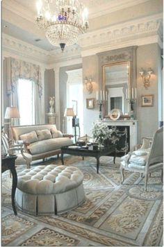 French Living Room Decor 30 Marvelous Renaissance Living Room Ideas to Inspire You Living Room Inspiration, Romantic Living Room, French Country Decorating Living Room, Living Room Decor Country, Luxury Living Room, Living Room Designs, French Living Rooms, Country Living Room Design, Country Living Room