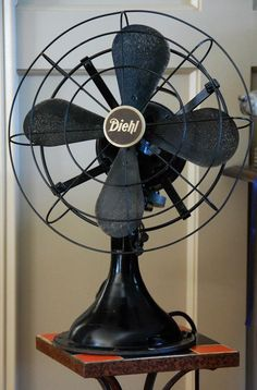 Vintage fans keep me cool...