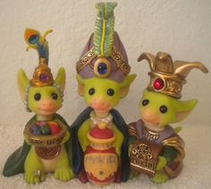 Whimsical World of Pocket Dragons Limited Edition Wee Three Kings New 002799 | eBay