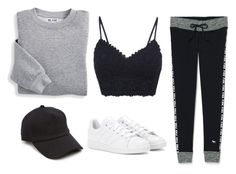 """Untitled #216"" by astroncastro on Polyvore featuring Blair, Victoria's Secret, adidas and rag & bone"