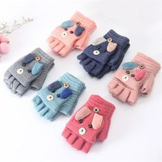 For Sale - WARMOM Kids Knitted Flip Mittens 2020 Cute Cartoon Winter Warm Gloves For Children Years Girls Boys Gloves Cashmere Gloves - Kids Accessories Baby Christmas Gifts, Kids Christmas, Merry Christmas, Winter Kids, Baby Winter, Knit Mittens, Knitted Gloves, Warmest Winter Gloves, Cashmere Gloves