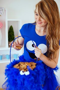 Cookie Monster Basket
