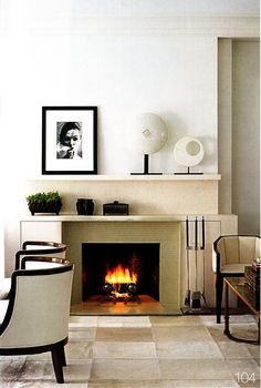 ivory fireplaces