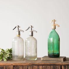 Antique Seltzer Bottle - Magnolia Market | Chip & Joanna Gaines
