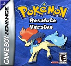Pokemon Resolute for Nintendo Gameboy Advance/GBA is a hack-monster capture RPG game Published by from pokecommunity. Check the Source for Pokemon Firered, Pokemon Games, Alola Forms, Pokemon Emerald, Playstation Portable, Android Hacks, Online Gratis, Wii U, Nintendo Games