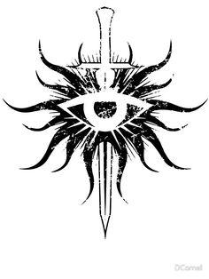 Dragon Age Inquisition Symbol Broken by DCornel