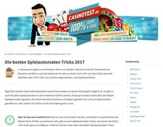 Roulette, Online Casino, Arcade Game Machines, Tips And Tricks