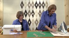 Strippy Diamonds Quilt Tutorial