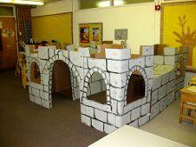 cardboard play area?
