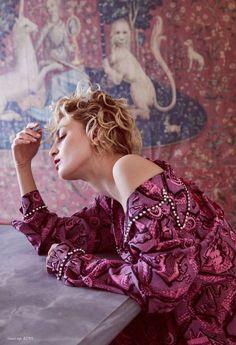 "Duchess Dior: ""Hot Pink"" Rose Smith for Harper's Bazaar Australia March 2017 Purple Fashion, Fashion Art, Editorial Fashion, Gucci Pre Fall 2017, Rose Smith, Dress Up Boxes, Hot Pink Roses, Harpers Bazaar, Pretty In Pink"